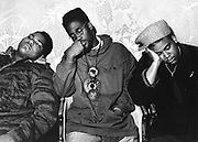 De La Soul sleeping , London, 1990s.