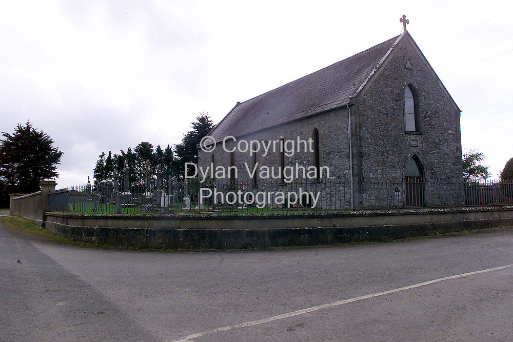 11/5/99.THE CHURCH AT KILLALOE NEAR CALLAN CO KILKENNY WHERE THE HENNESSY INCIDENT TOOK PLACE.PICTURE DYLAN VAUGHAN.