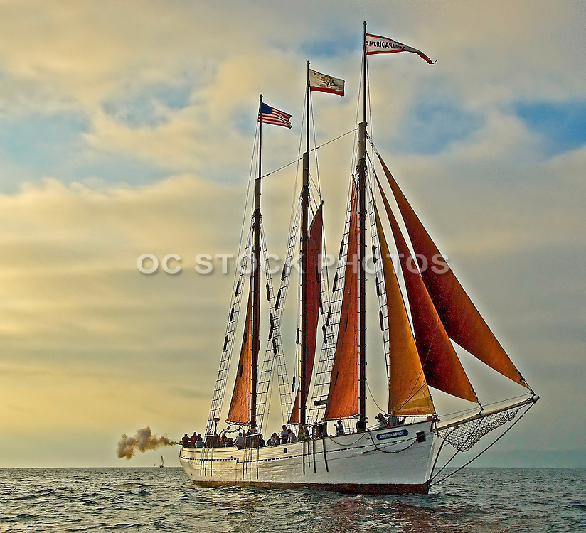 Tall Ships off the Coast of Dana Point