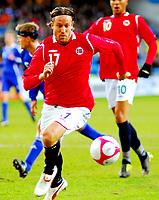 Fotball Privat Landskamp 01.04.2009<br /> Ullevaal Stadium <br /> Norge vs Finland<br /> Norway vs Soumi<br /> <br /> Result  <br /> <br /> Foto: Jarl Robert Christensen Digitalsport<br /> <br /> Norge Norway Thorstein Helstad