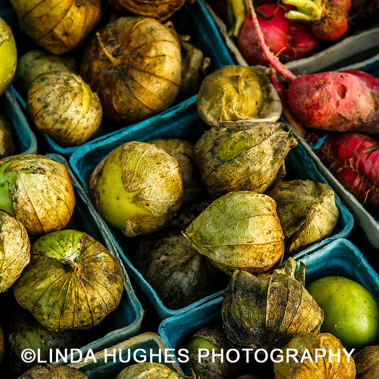Tomatillos at a local farmer's market