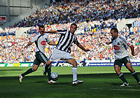 Photo: Tony Oudot/Richard Lane Photography. West Bromwich Albion v Plymouth Argyle. Coca Cola Championship. 12/09/2009. <br /> Roman Bednar of WBA creates havoc in the Plymouth defence
