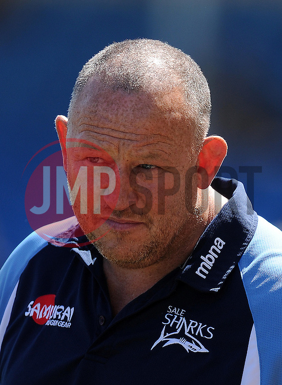 Sale Sharks Director of Rugby Steve Diamond Photo mandatory by-line: Harry Trump/JMP - Mobile: 07966 386802 - 16/05/15 - SPORT - RUGBY - Aviva Premiership - Exeter Chiefs v Sale Sharks - Sandy Park, Exeter, England.