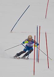 19.02.2011, Gudiberg, Garmisch Partenkirchen, GER, FIS Alpin Ski WM 2011, GAP, Herren, Slalom, im Bild Andre Myhrer (SWE) // Andre Myhrer (SWE) during Men's Slalom Fis Alpine Ski World Championships in Garmisch Partenkirchen, Germany on 20/2/2011. EXPA Pictures © 2011, PhotoCredit: EXPA/ J. Groder
