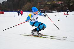 PAVLENKO Lyudmyla, UKR at the 2014 IPC Nordic Skiing World Cup Finals - Long Distance
