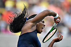 20160807 Rio 2016 Olympics - Tennis Serena Williams