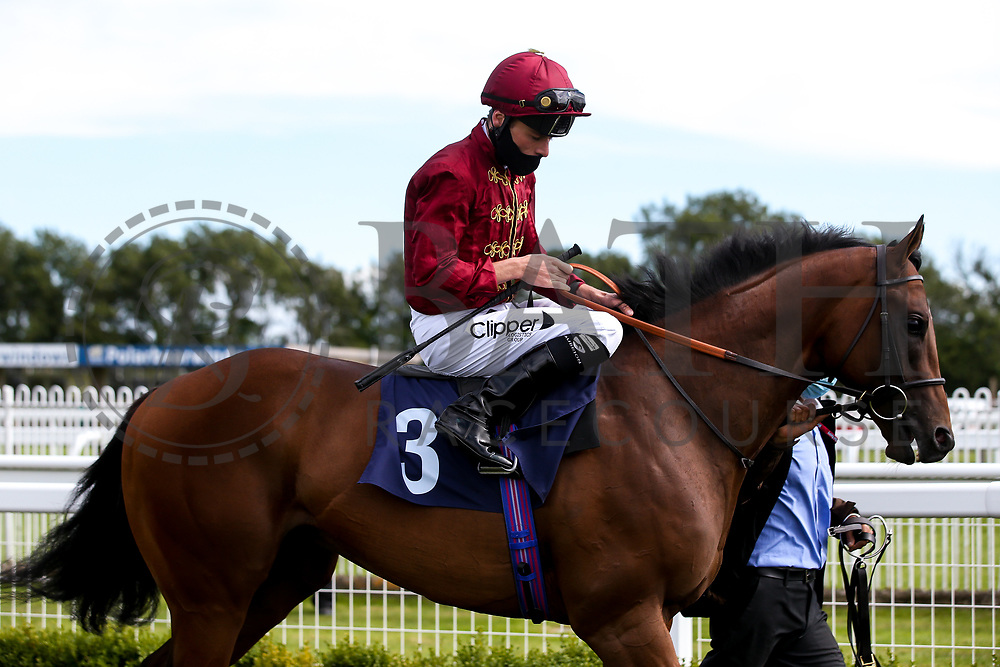 Twilight Heir ridden by Kieran Shoemark and trained by Micheal Bell - Mandatory by-line: Robbie Stephenson/JMP - 18/07/2020 - HORSE RACING- Bath Racecourse - Bath, England - Bath Races 18/07/20