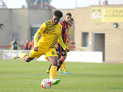 Ellis Harrison - Mandatory byline: Neil Brookman/JMP - 07966 386802 - 03/10/2015 - FOOTBALL - Globe Arena - Morecambe, England - Morecambe FC v Bristol Rovers - Sky Bet League Two