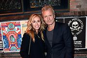 Marco Borsato begint zijn clubtour presenteert nieuwe album Thuis  in Paradiso.<br /> <br /> Op de foto:  Erland Galjaard en partner Wendy van Dijk