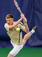 Big East Men's Tennis Championship Notre Dame vs Louisville - South Bend, IN
