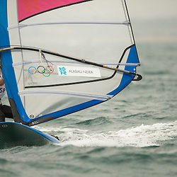 2012 Olympic Games London / Weymouth<br /> RSX women racing day 1<br /> RS:X WomenESPAlabau Marina