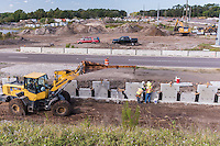 Construction  Photo of Route I-75 in Tampa Florida by Jeffrey Sauers of Commercial Photographics, Architectural Photo Artistry in Washington DC, Virginia to Florida and PA to New England