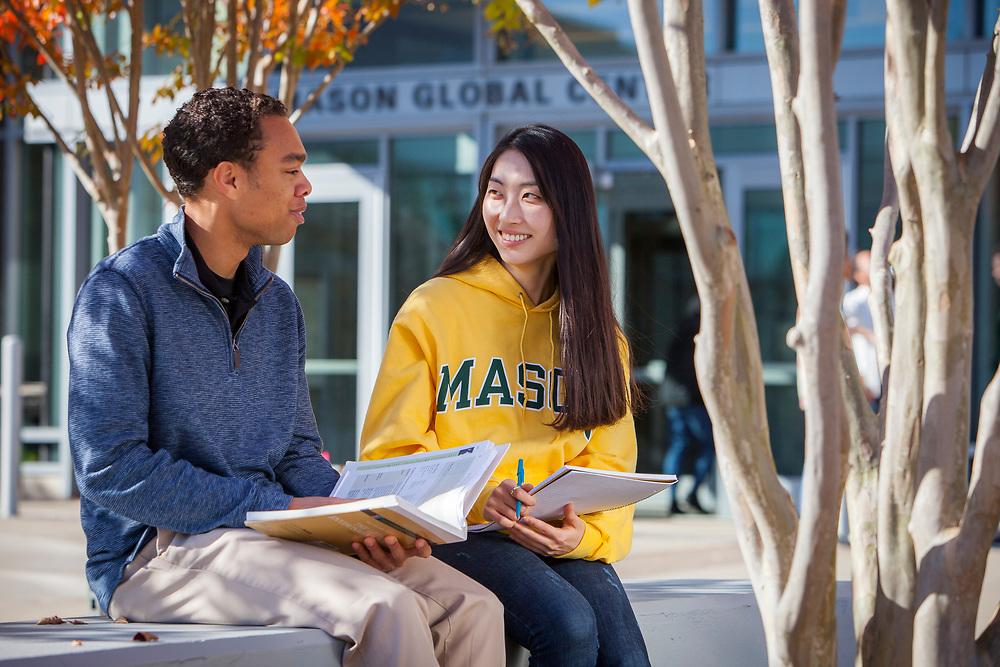 George Mason University, Fairfax, VA campus. For INTO Partnerships.