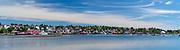 Midday view of Lunenburg, Nova Scotia, Canada.