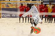 Football-FIFA Beach Soccer World Cup 2006 - Group D- Nigeria - Bahrain, Beachsoccer World Cup 2006. Nigeria's Olawale     - Rio de Janeiro - Brazil 06/11/2006. Mandatory credit: FIFA/ Manuel Queimadelos