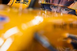 March 23, 2018 - Melbourne, Victoria, Australia - VANDOORNE Stoffel (bel), McLaren Renault MCL33, portrait during 2018 Formula 1 championship at Melbourne, Australian Grand Prix, from March 22 To 25 - Photo  Motorsports: FIA Formula One World Championship 2018, Melbourne, Victoria : Motorsports: Formula 1 2018 Rolex  Australian Grand Prix, (Credit Image: © Hoch Zwei via ZUMA Wire)