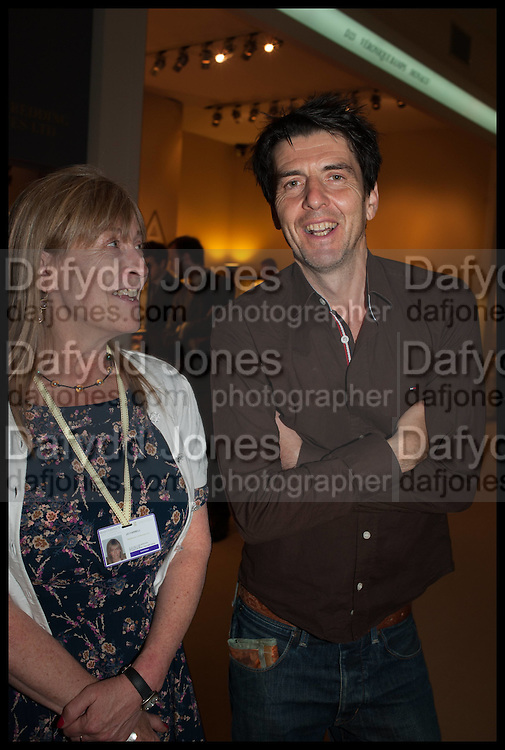 JO FARRELL; ANDREW ST. CLAIR, Masterpiece London 2014 Preview. The Royal Hospital, Chelsea. London. 25 June 2014.