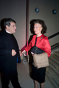 NORMAN ROSETHALL; CORAL SAMUEL;, Van Dyck private view and dinner. Tate Britain. 16 February 2009 *** Local Caption *** -DO NOT ARCHIVE -Copyright Photograph by Dafydd Jones. 248 Clapham Rd. London SW9 0PZ. Tel 0207 820 0771. www.dafjones.com<br /> NORMAN ROSETHALL; CORAL SAMUEL;, Van Dyck private view and dinner. Tate Britain. 16 February 2009