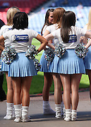 Homecoming Scotland Cheerleaders before the Homecoming Scottish FA Cup Final between Falkirk and Rangers at Hampden Park (picture by David Young - 07765 252616)