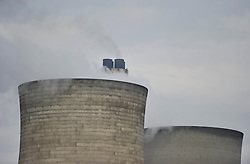 © Licensed to London News Pictures. 22nd March 2013. Didcot Oxfordshire. Didcot Power Station A is switched off today. The coal fired 2000MW power station supped electricity to the National grid for the past 43 years. Photo credit : MarkHemsworth/LNP