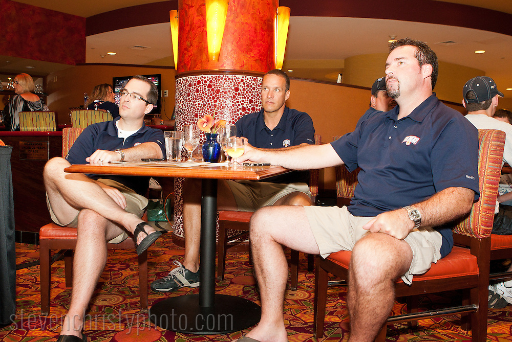 June 24, 2011: The Oklahoma City Barons of the American Hockey League host a NHL draft watch party at the Courtyard by Marriott in downtown Oklahoma City.  The Barons parent team, the Edmonton Oilers, have the first pick in the 2011 draft.