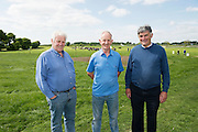 John Angland, Oughterard, Richard Rice Oughterard and Seamus Acton Moycullen  Newford Herd Open Day at Teagasc Athenry, Mellows Campus.  Photo:Andrew Downes, xposure.