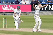 WICKET - Brydon Carse has Harry Dearden trapped LBW during the Specsavers County Champ Div 2 match between Durham County Cricket Club and Leicestershire County Cricket Club at the Emirates Durham ICG Ground, Chester-le-Street, United Kingdom on 20 August 2019.