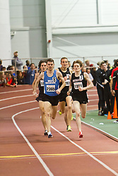 Boston University Terrier Invitational Indoor Track Meet: Julian Matthews, David McCarthy, Riley Masters, Eric Jenkins, Mens Elite Mile
