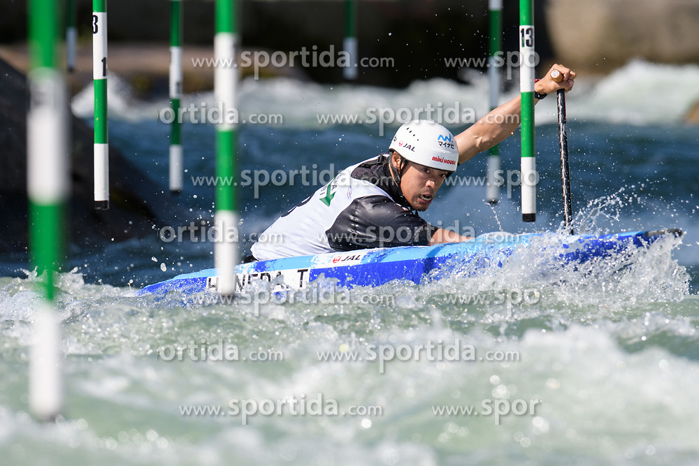 Takuya HANEDA during the Canoe Single (C1) Men SemiFinal race of 2019 ICF Canoe Slalom World Cup 4, on June 28, 2019 in Tacen, Ljubljana, Slovenia. Photo by Sasa Pahic Szabo / Sportida