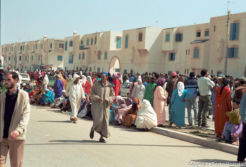 Essaouria, Marokko. Regragua, en muslimsk fest..neg
