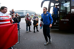 Edward Upson of Bristol Rovers arrives at Doncaster Rovers - Mandatory by-line: Robbie Stephenson/JMP - 26/03/2019 - FOOTBALL - Keepmoat Stadium - Doncaster, England - Doncaster Rovers v Bristol Rovers - Sky Bet League One