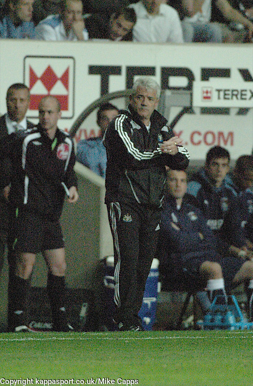 KEVIN KEEGAN, MANAGER, NEWCASTLE UNITED, Coventry City - Newcastle United, Utd Carling Cup Ricoh Stadium, Coventry, 26th August 2008 26/8/08