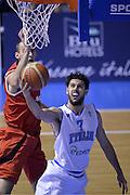 DESCRIZIONE : Qualificazioni EuroBasket 2015 Italia-Svizzera<br /> GIOCATORE : Luca Vitali<br /> CATEGORIA : nazionale maschile senior A<br /> GARA : Qualificazioni EuroBasket 2015 - Italia-Svizzera<br /> DATA : 17/08/2014<br /> AUTORE : Agenzia Ciamillo-Castoria