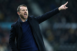 Derby County's manager Gary Rowett during the match at Pride Park