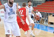 DESCRIZIONE : Skopje torneo internazionale Italia - Polonia<br /> GIOCATORE : Luca Vitali<br /> CATEGORIA : nazionale maschile senior A <br /> GARA : Skopje torneo internazionale Italia - Polonia <br /> DATA : 27/07/2014 <br /> AUTORE : Agenzia Ciamillo-Castoria