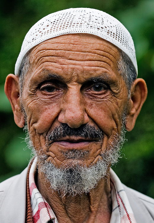 portrait of old turkish man