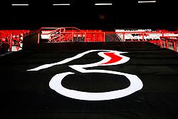 General View of the Atyeo Stand with Beard sponsored netting - Rogan/JMP - 18/01/2020 - Ashton Gate Stadium - Bristol, England - Bristol City v Barnsley - Sky Bet Championship.