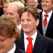 NLD/Naarden/20051022 - Huwelijk prins Floris en Aimee Söhngen, prins Pieter Christiaan
