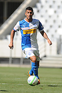 CAPE TOWN, South Africa - Monday 21 January 2013, Frank Feltscher of Grasshopper Club Zurich during the soccer/football match Grasshopper Club Zurich (Switzerland) and Jomo Cosmos at the Cape Town stadium..Photo by Roger Sedres/ImageSA