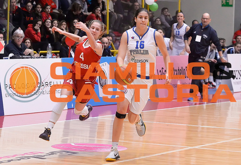 DESCRIZIONE : Schio Torneo Famila cup Italia Russia Italy Russia<br /> GIOCATORE : Maddalena Gaia Gorini<br /> CATEGORIA : palleggio<br /> EVENTO : Schio Torneo Famila cup Italia Russia Italy Russia<br /> GARA : Italia Russia Italy Russia<br /> DATA : 28/12/2014<br /> SPORT : Pallacanestro<br /> AUTORE : Agenzia Ciamillo-Castoria/R.Morgano<br /> Galleria: Fip Nazionali 2014<br /> Fotonotizia: Schio Torneo Famila cup Italia Russia Italy Russia<br /> Predefinita :