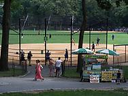 A Central Park food vendor