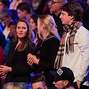 NLD/Hilversum/20130126 - 5e Liveshow Sterren Dansen op het IJs 2013, vrienden van Chistophe Haddad