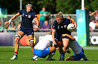 Rugby Union - 2017 Women's Rugby World Cup (WRWC) - Pool B: USA vs. Italy<br /> <br /> USA's Catie Benson in action, at Billings Park UCD, Dublin.<br /> <br /> COLORSPORT/KEN SUTTON