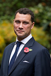 © Licensed to London News Pictures. 24/10/2012. LONDON, UK. Steven Woolfe, the UK Independence Party Police and Crime Commissioner candidate for Greater Manchester, is seen after a press conference in London today (24/10/12).  The conference was held by the party to announce their 25 candidates who will stand for the position of Police and Crime Commissioner in various constabularies across England and Wales. Photo credit: Matt Cetti-Roberts/LNP