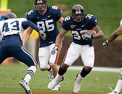 Virginia Cavaliers RB Keith Payne (32)..The University of Virginia Football Team played their Spring game at Scott Stadium in Charlottesville, VA on April 14, 2007.