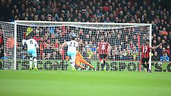 Joshua King of Bournemouth shoots his penalty wide. - Mandatory by-line: Alex James/JMP - 11/03/2017 - FOOTBALL - Vitality Stadium - Bournemouth, England - Bournemouth v West Ham United - Premier League