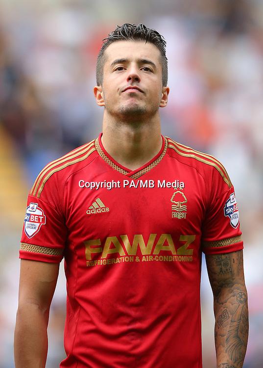 Nottingham Forest's Daniel Pinillos