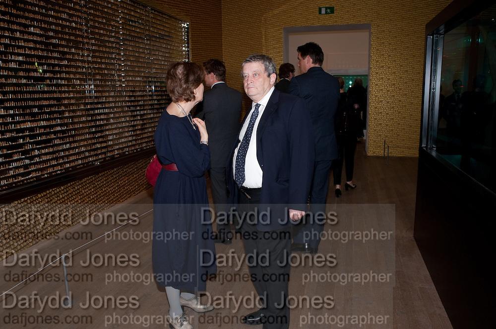 NORMAN ROSENTHAL, Damien Hirst, Tate Modern: dinner. 2 April 2012.