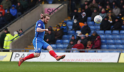 Jack Marriott of Peterborough United goes close to scoring with a volley - Mandatory by-line: Joe Dent/JMP - 17/03/2018 - FOOTBALL - Kassam Stadium - Oxford, England - Oxford United v Peterborough United - Sky Bet League One