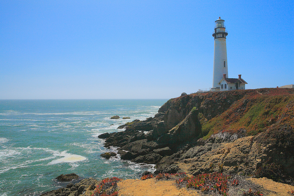 Pigeon Point Lighthouse - North Santa Cruz County, CA